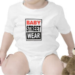 diseño del desgaste de la calle del bebé traje de bebé