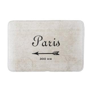 Diseño del destino de París Francia del vintage