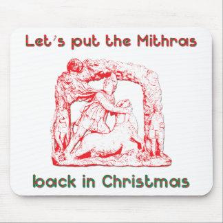 Diseño del día de fiesta de Mithras Mouse Pads