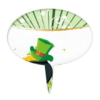 Diseño del día del St Patricks Decoración Para Tarta