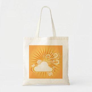 Diseño del día soleado - bolso de compras reutiliz bolsa