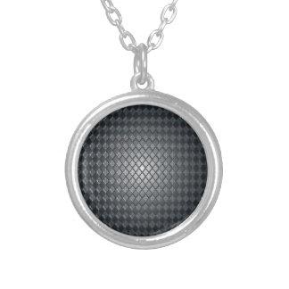 Diseño del diamante negro del asesino colgante redondo