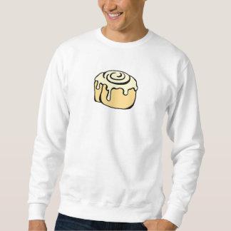 Diseño del dibujo animado del bollo de miel del sudadera con capucha