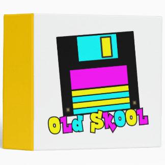 Diseño del disco blando retro del skool de CMYK vi