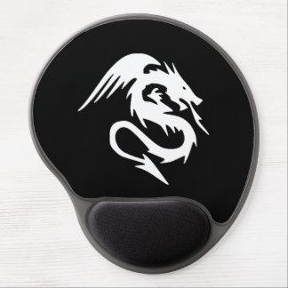 Diseño del dragón alfombrillas de ratón con gel