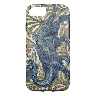 """Diseño del """"dragón"""" para una teja (w/c en el funda iPhone 7"""