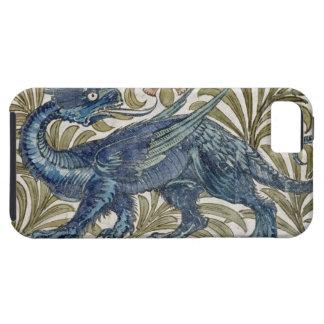 """Diseño del """"dragón"""" para una teja (w/c en el funda para iPhone SE/5/5s"""