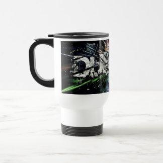 diseño del dubstep taza de viaje de acero inoxidable