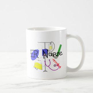 Diseño del equipamiento médico de la enfermera del tazas de café