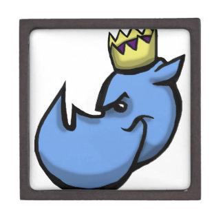 Diseño del equipo del rey del rinoceronte cajas de regalo de calidad