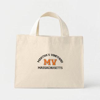 """Diseño del """"equipo universitario"""" del Martha's Vin Bolsa Tela Pequeña"""