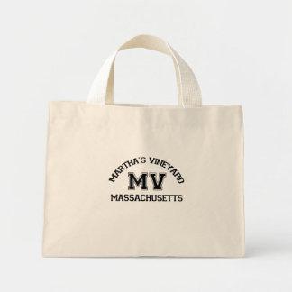 """Diseño del """"equipo universitario"""" del Martha's Vin Bolsa De Mano"""