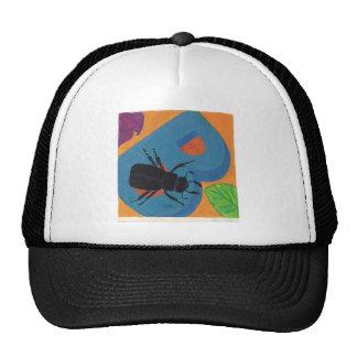 Diseño del escarabajo B Gorro