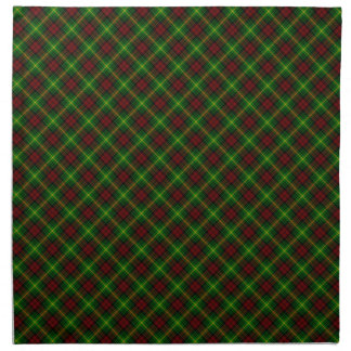 Diseño del escocés del tartán del clan de Martin Servilletas Imprimidas