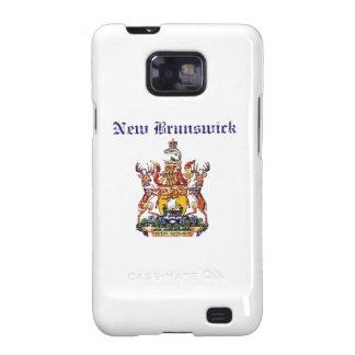Diseño del escudo de armas de Nuevo Brunswick Galaxy S2 Funda
