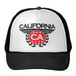 Diseño del escudo de California Gorros Bordados