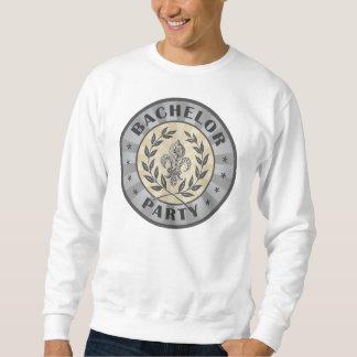Diseño del escudo de la despedida de soltero suéter
