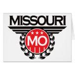 Diseño del escudo de Missouri Tarjetas
