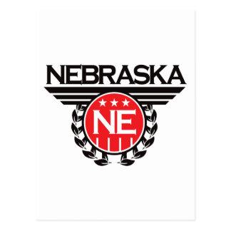 Diseño del escudo de Nebraska Postales