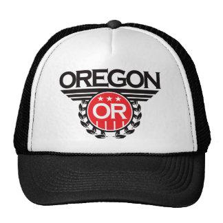 Diseño del escudo de Oregon Gorros Bordados