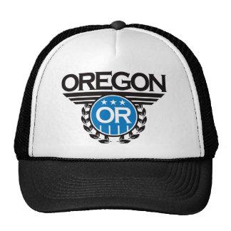 Diseño del escudo de Oregon Gorras De Camionero