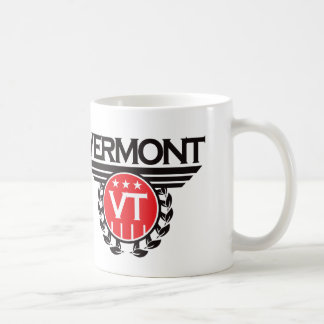 Diseño del escudo de Vermont Tazas De Café