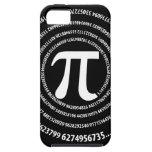 Diseño del espiral del número del pi iPhone 5 fundas