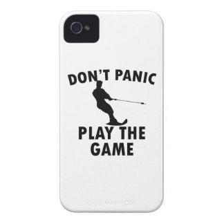 diseño del esquí acuático Case-Mate iPhone 4 fundas