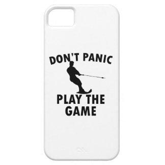 diseño del esquí acuático funda para iPhone 5 barely there