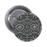 Diseño del estampado de zebra pin