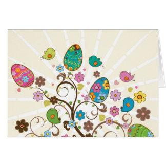 ¡Diseño del este hermoso de los huevos! Tarjeta De Felicitación