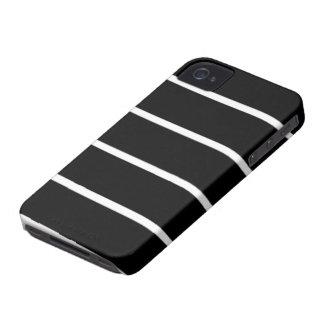 diseño del estilo de la cebra del caso del iPhone Case-Mate iPhone 4 Coberturas