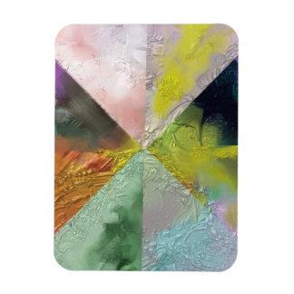 Diseño del extracto de la prisma iman