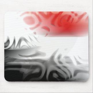 diseño del extracto de la puesta del sol tapete de raton
