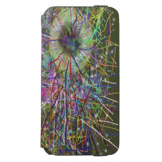 Diseño del extracto del calabozo funda cartera para iPhone 6 watson