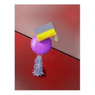 Diseño del extracto del ejercicio de equilibrio tarjetas postales