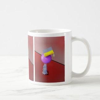 Diseño del extracto del ejercicio de equilibrio taza clásica