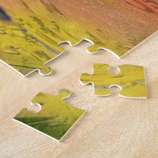 Diseño del extracto del oro puzzle