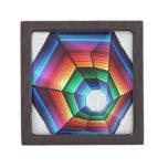 Diseño del extracto del túnel del arco iris