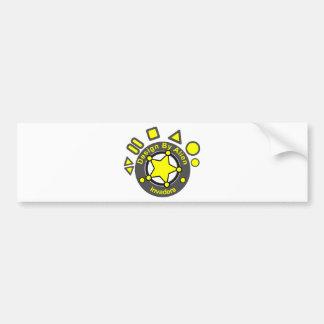Diseño del extranjero pegatina para auto