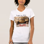 Diseño del extremo de la tortuga camisetas