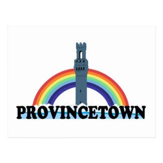 """Diseño del """"faro"""" de Provincetown Postales"""