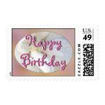 Diseño del feliz cumpleaños sellos