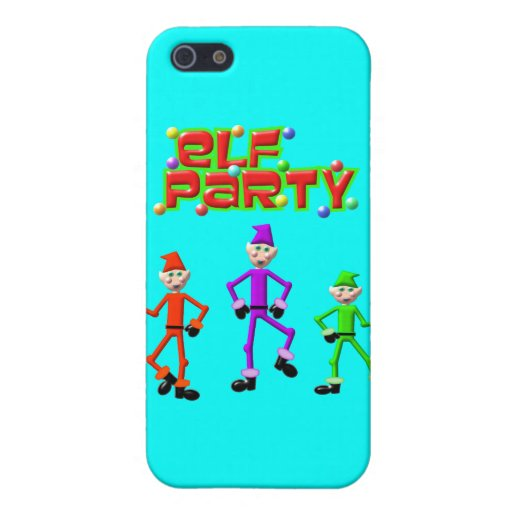 Diseño del fiesta del duende de los duendes de San iPhone 5 Funda