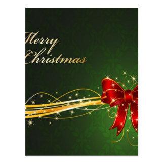 Diseño del fondo del navidad postales