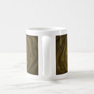 Diseño del fractal (amalgama del oro) para la taza