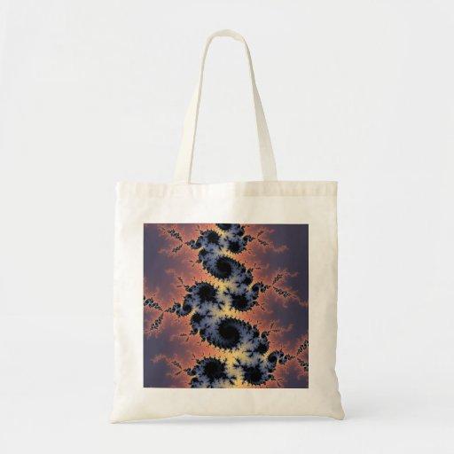 Diseño del fractal bolsa de mano