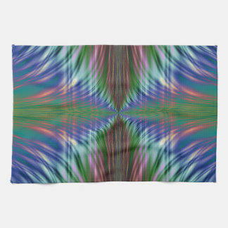 Diseño del fractal de las frondas toalla