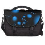 Diseño del fractal de los huevos del azul bolsas para portátil