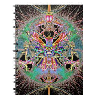 Diseño del fractal del escarabajo atómico - libros de apuntes